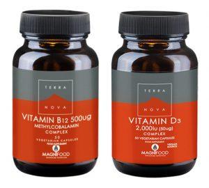 B-12 vitamin & D3 vitamin