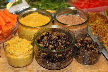Marinerede bønner som en del af Food prepping til ugens frokost