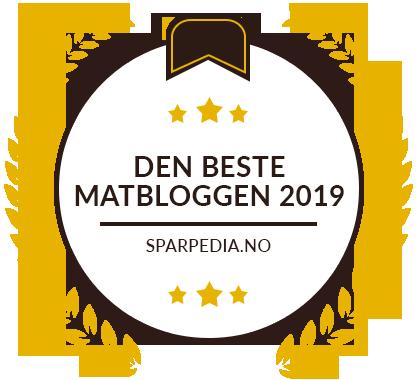 Banners for Den Bedste Madblog 2019