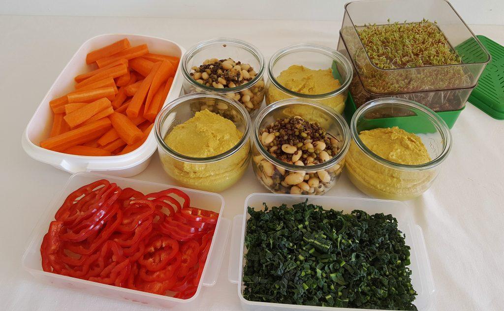 Frokost forberedelser til uge 14