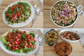 Vegansk mad til pinsefest i familien
