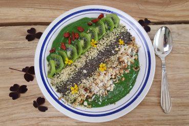Grøn morgenmadssmoothie