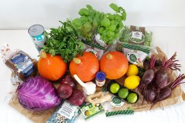 Farverige grøntsager