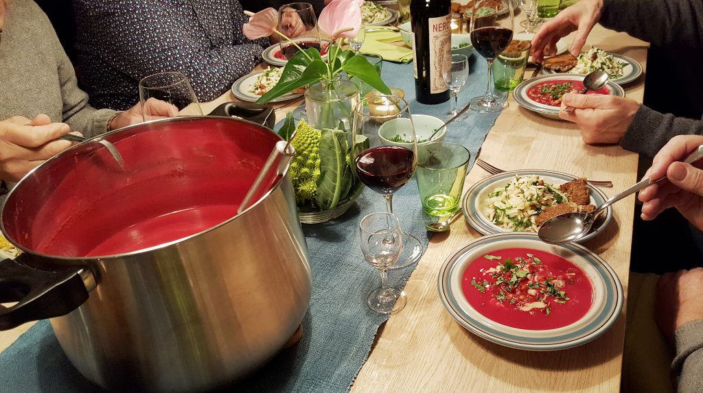 Arabisk rødbedesuppe