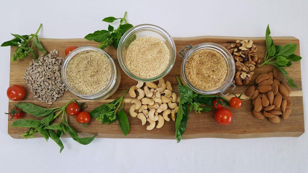 Vegansk parmesan