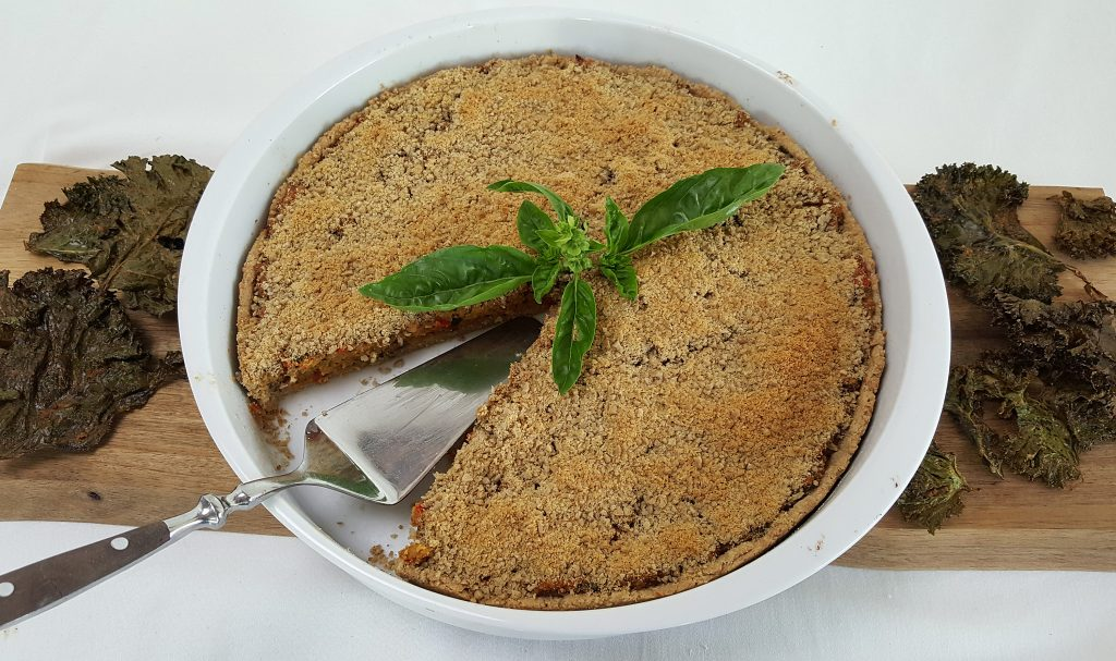 Vegansk kødtærte med Naturli' hakket