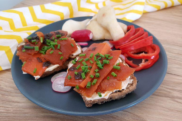 Sandwich med læx