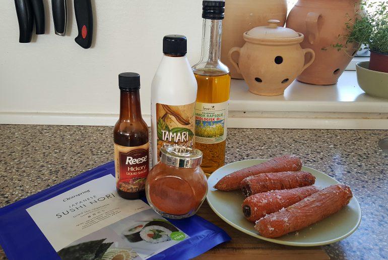 Ingredienser til læx