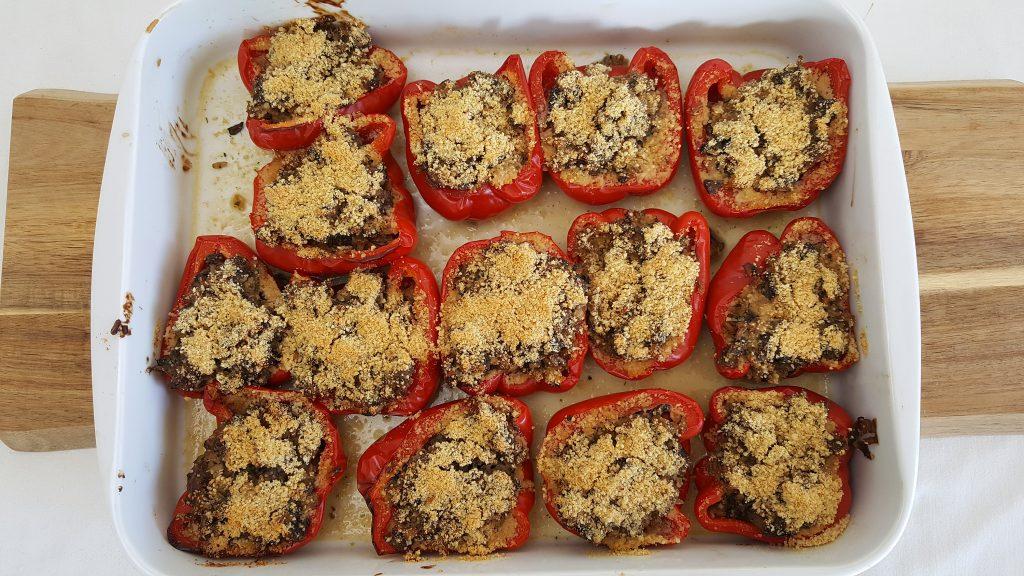 Farserede peberfrugter (petit farcis)