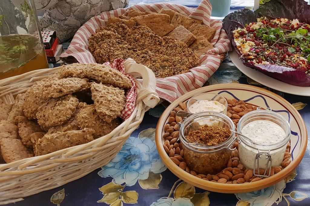 Brød og smørelse