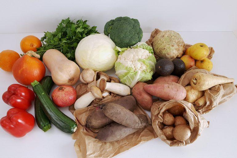 Grøntsager fra torvet