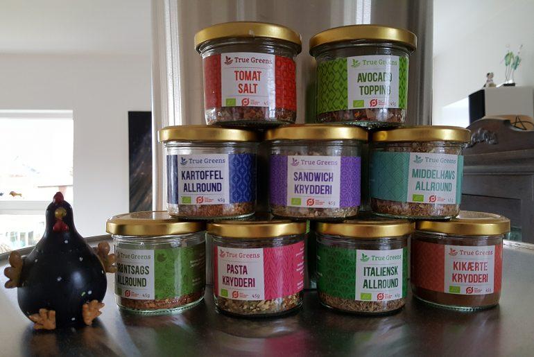 Krydderier fra Truegreens
