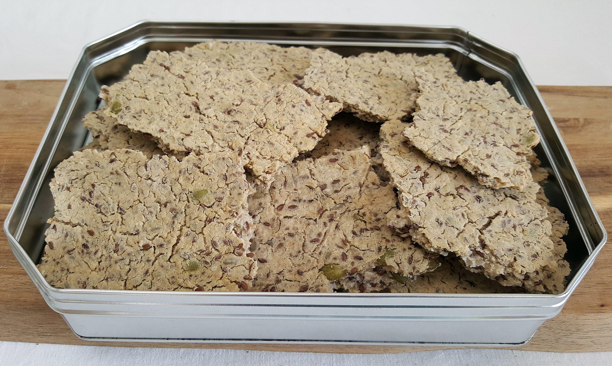 Knækbrød med butterbeans