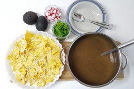 sortbønne suppe
